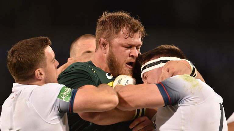 Vermeulen played a key role for the Springboks in their recent series victory over England