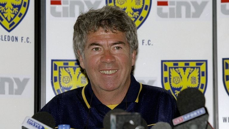 Egil Olsen became the first Norwegian to manage in the Premier League when he took charge of Wimbledon in 1999