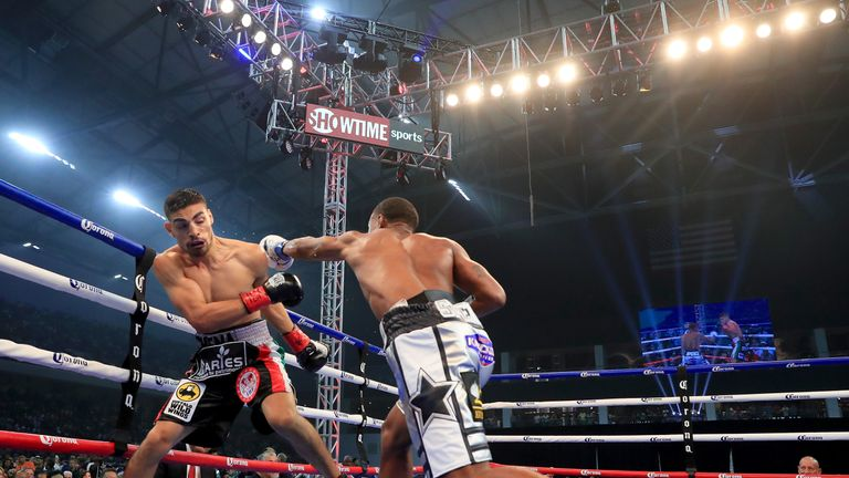 Spence keeps title with first-round KO of Ocampo