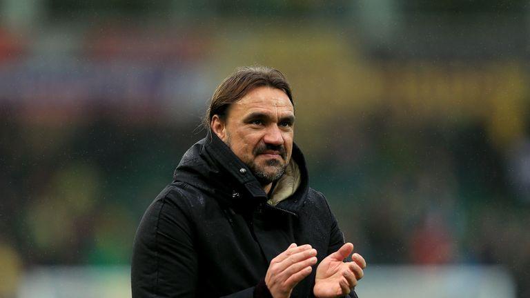 Norwich City manager Daniel Farke
