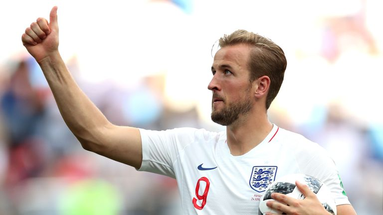 Harry Kane is currently the World Cup's top goalscorer, with five strikes