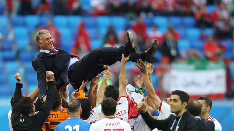 Carlos Queiroz's Iran still have a chance of qualification