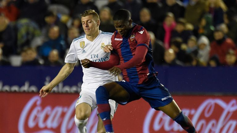Lerma has spent three years in Spain with Levante