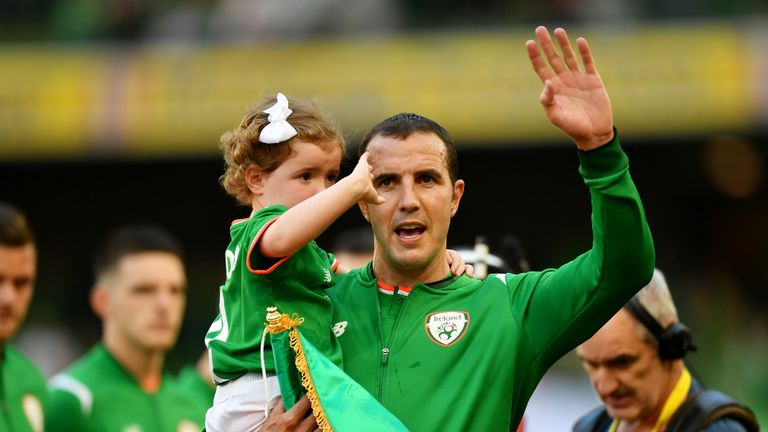 John O'Shea made his 118th and final appearance for the Republic of Ireland
