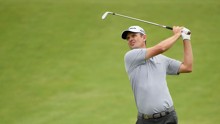 Justin Rose posted a level-par 70 on Friday