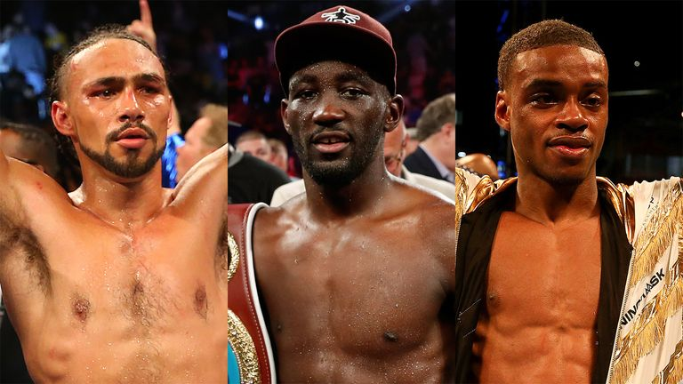 Keith Thurman, Terence Crawford and Errol Spence Jr all fight at welterweight