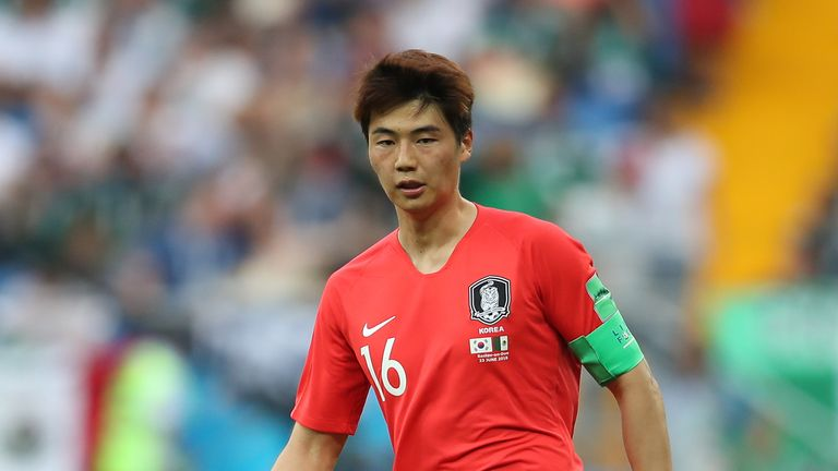 Sung-yueng Ki will not be available for South Korea on Wednesday