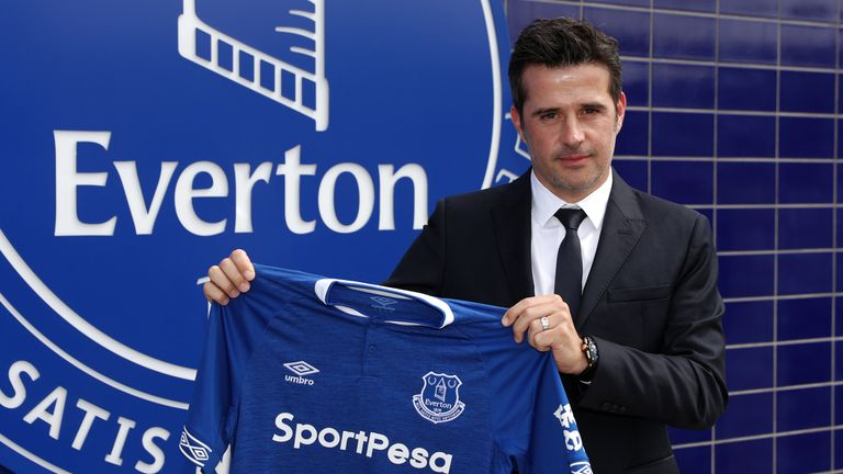 Marco Silva was appointed Everton manager in May