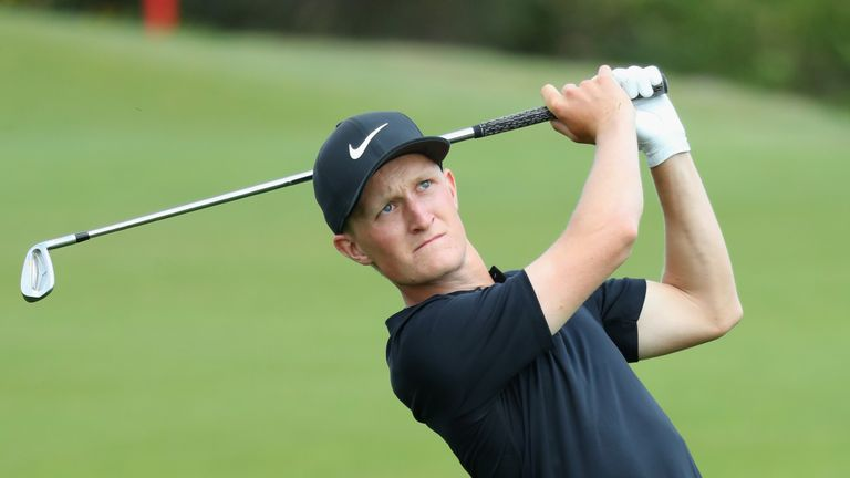 Swede Kinhult leads French Open as Garcia, Rahm make moves