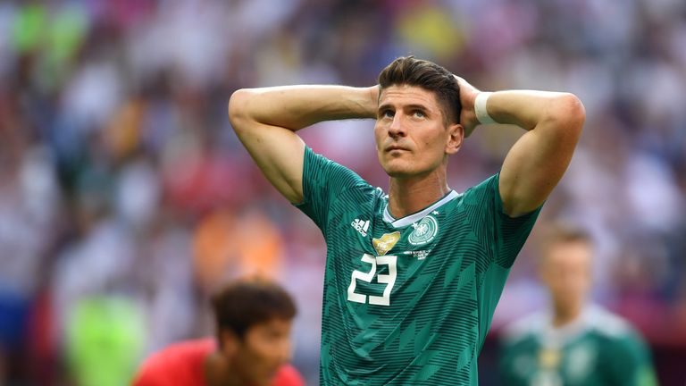 Germany finished bottom of Group F