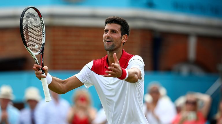 Novak Djokovic and Grigor Dimitrov through to Queen's second round