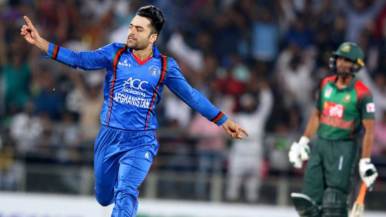 Afghanistan leg-spinner Rashid Khan will get his first taste of Test cricket in Bangalore this week
