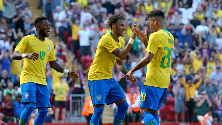 Neymar is fit again and out to inspire Brazil