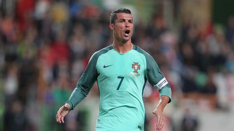 Cristiano Ronaldo will captain Portugal at the World Cup