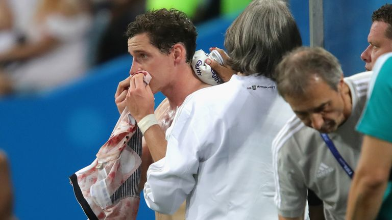 Defending champions Germany crash out after 2-0 defeat to South Korea