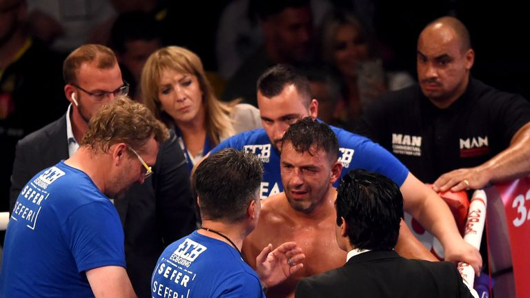 Sefer Seferi was withdrawn after four rounds