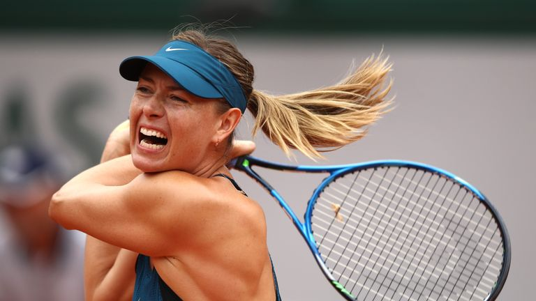 Maria Sharapova hits back at Serena Williams in book row