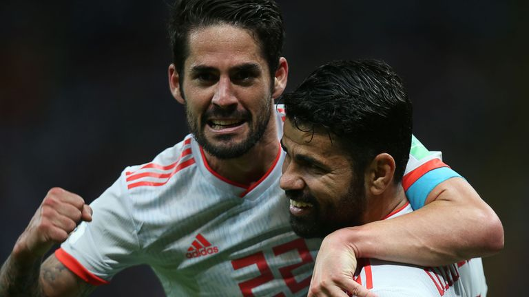 Isco put in a superb performance in the opening game with Portugal