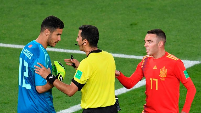 VAR caused more controversy in Spain's 2-2 draw with Morocco