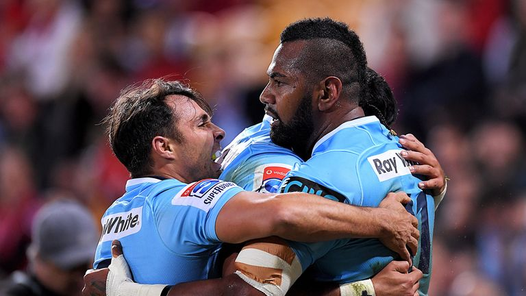 The Waratahs posted 52 points at Suncorp Stadium in Brisbane as they beat the Reds