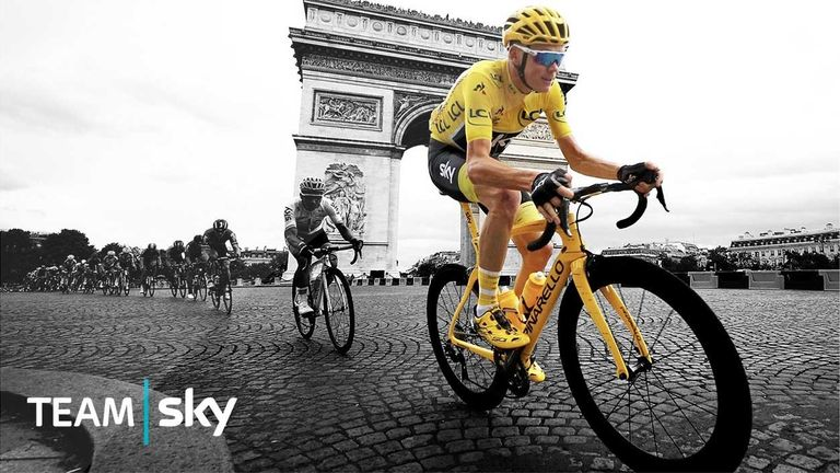 Win the chance to see Team Sky in Paris with Sky VIP