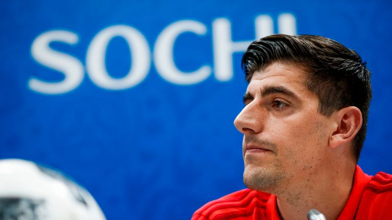 Thibaut Courtois believes he would have easily saved Adnan Januzaj goal