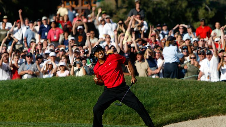 Tiger Woods won his last major at Torrey Pines in 2008