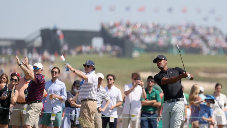 Tony Finau has earned top-10 finishes in three majors this year