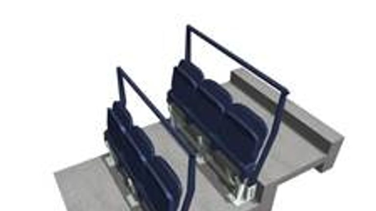 Tottenham have revealed the design of seating areas which have been future-proofed for safe standing