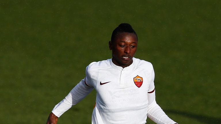 Umar Sadiq has joined Rangers on loan from Roma