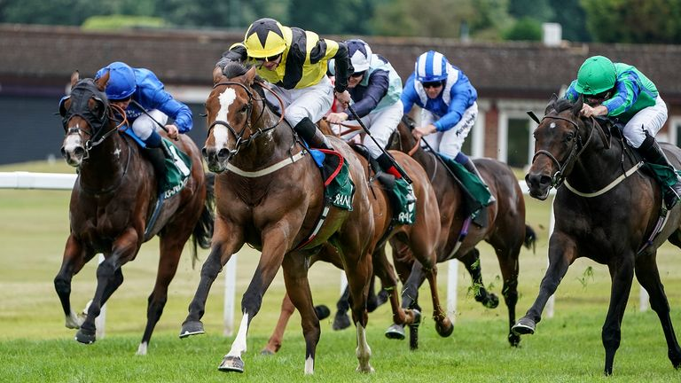 Roaring Lion downs arch rival in three-year-olds' Eclipse