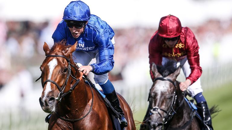 Horseracing-Masar gives Sheikh Mohammed first Derby win
