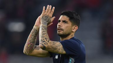 Reports in Spain have linked Ever Banega with a move to Arsenal