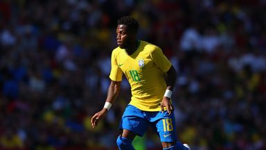 fifa live scores - WATCH: Fred injured at Brazil training session