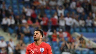 fifa live scores -                               'Walker should have been sent off'