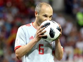 Andres Iniesta says the Spain players are treating their game with Iran like a final