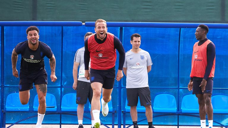 Harry Kane says he's been scoring more goals in training than normal
