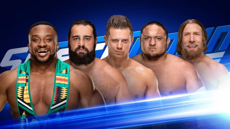 Five men will compete for the right to face AJ Styles for his WWE title at Extreme Rules