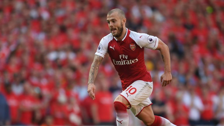 Jack Wilshere's Arsenal contract expired on June 30