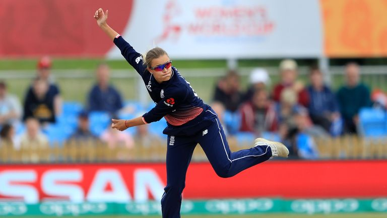 Alex Hartley was a part of England Women's World Cup winning squad