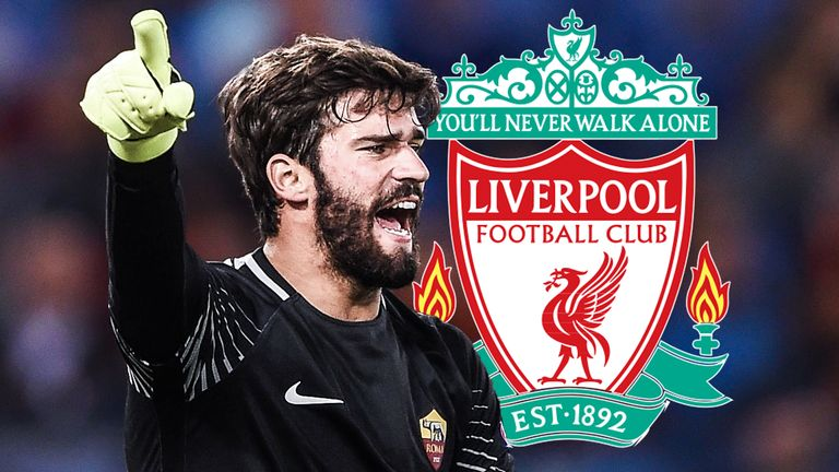 Alisson Becker has joined Liverpool in a world-record deal for a goalkeeper