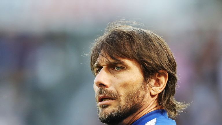 Conte won the Premier League and FA Cup in his two years in charge