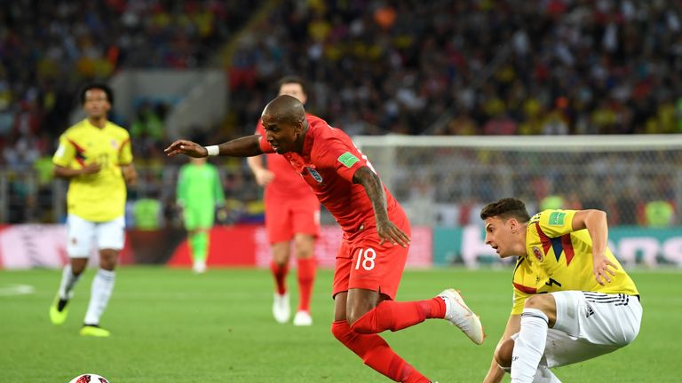 Radamel Falcao slams referee in England's World Cup win over Colombia