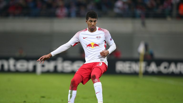 The Brazilian signed from Bundesliga side RB Leipzig