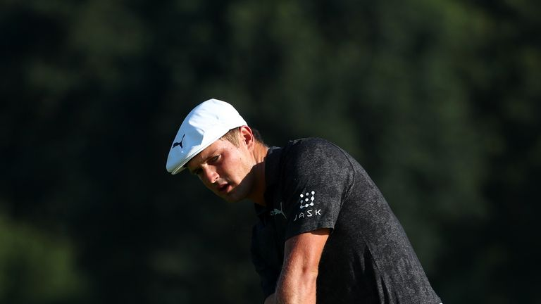 DeChambeau is chasing a second worldwide win of the year