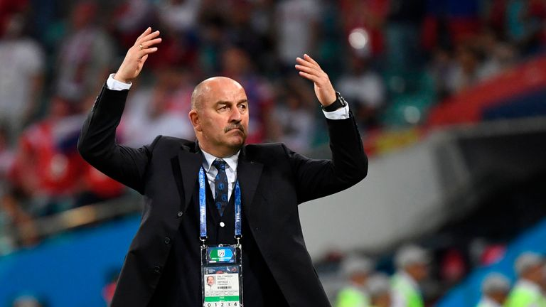 Image result for Stanislav Cherchesov signs two-year deal with Russia FA