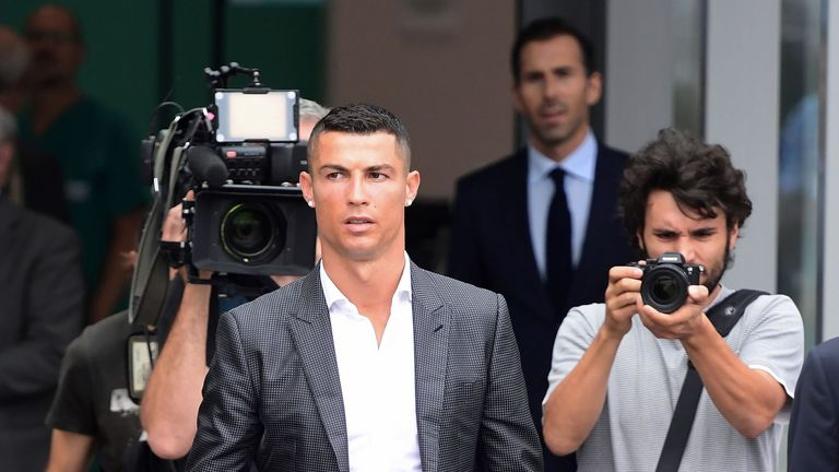 Ronaldo fined €19 million in tax plea