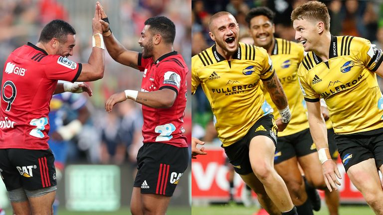 Crusaders v Hurricanes: Which half-backs will come out on top?