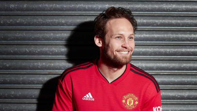 Blind won four trophies during his time at Old Trafford