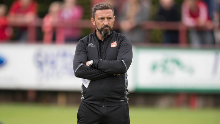 Aberdeen boss Derek McInnes is targeting another impressive season